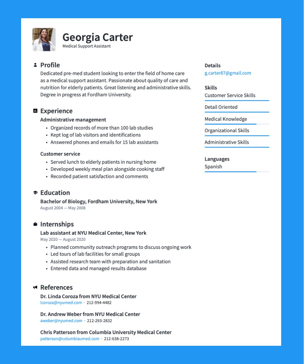 Best Resume Format 20 +Free Examples · Resume.io