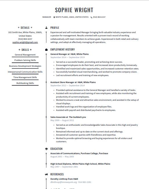 professional resume templates  word  u0026 pdf  download for